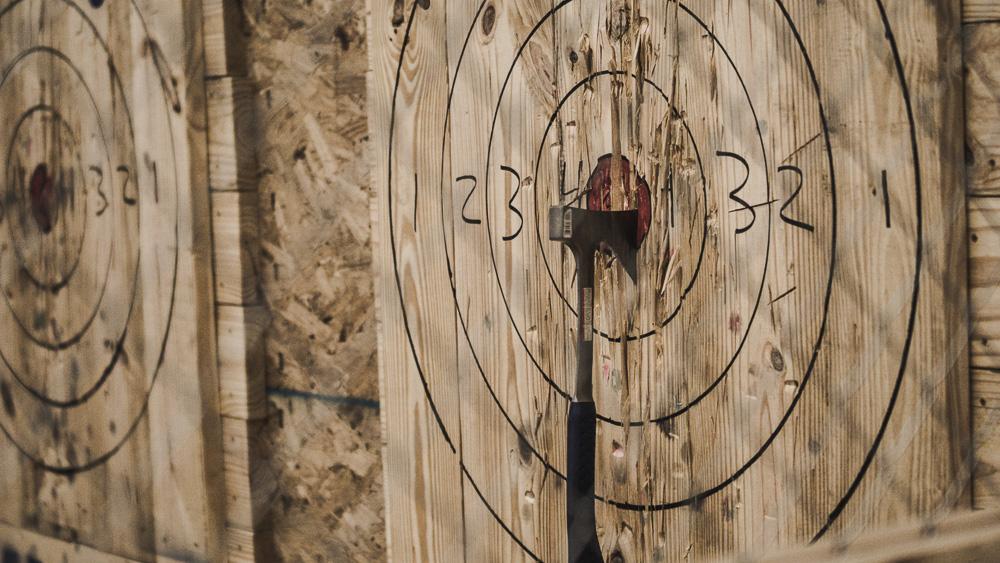 axe throwing, axe, atlanta, bad axe, fun