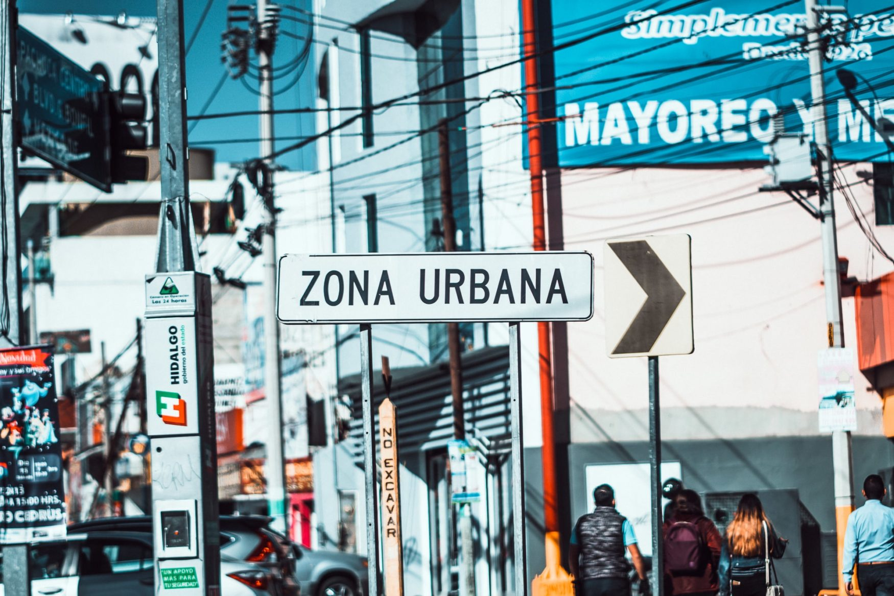 mexico city street signs
